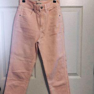 Light pink Madewell pants!